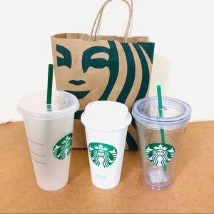 Starbucks Lot Of 3 Tumblers Mugs